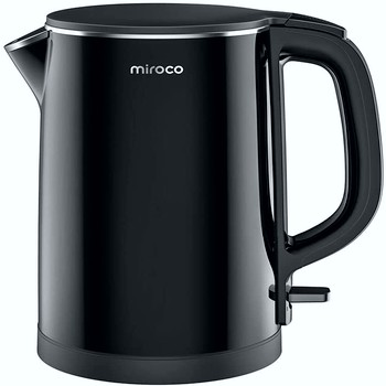 Miroco 1.5L Double Wall Electric Kettle