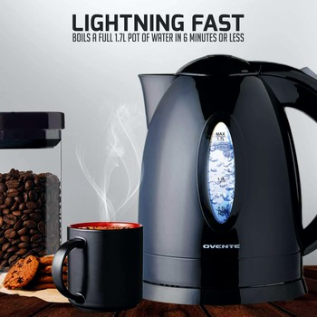 OVENTE KP72B Electric Kettle